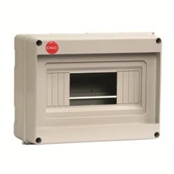 DKC щиток настенный, серый, без крышки, 8 мод., RAL 7035 арт. 82008