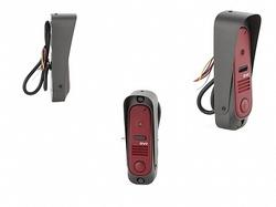 DVC В/П 420 твл (CMOS), узкая, вертик., накладн. монтаж, компл: уголок, козырек, темно-красный арт. DVC-412Re Color