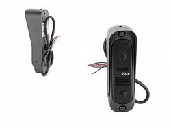 DVC В/П 420 твл (CMOS), узкая, вертик., накладн. монтаж, компл: уголок, козырек, цвет: черный арт. DVC-412Bl Color