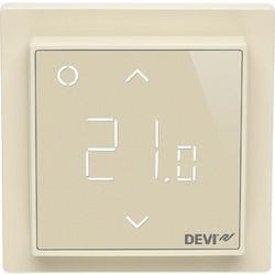 Devi Smart Терморегулятор интеллектуальный с Wi-Fi, бежевый, 16А арт. 140F1142