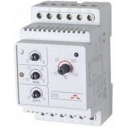 Devi Терморегулятор Д-316(-10+50С) датчиком пола арт. 140F1075