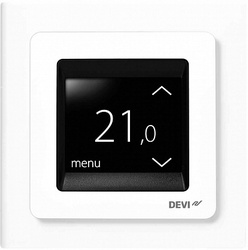 Devi Терморегулятор DEVIreg Touch с комб. датчиков, белый арт. 140F1064