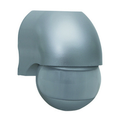 Duewi Серебро Датчик ИК Control-Luchs 180о, до 12 м, 1000W, IP44 (rev 75180703) арт. DW 15393