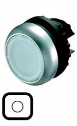 Eaton Головка кнопки с подсветкой, без фиксации, цвет белый M22-DL-W арт. 0000216922