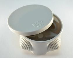 Elfo Коробка распределительная d 65х35 IP 44 4 конических сальника арт. Elfo 050-00