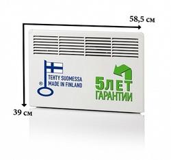 Ensto Конвектор настенный Beta 0.5кВт   220В 389х585х85 IP21 арт. EPHBM05P