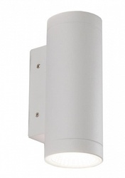Favourite Flicker Белый/Прозрачный Светильник уличный LED*2*9W- IP65 арт. 1828-2W