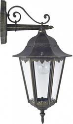 Favourite London Черный/Прозрачный Светильник уличный 1*E27*100W, IP44 арт. 1809-1W