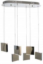 Favourite Otherworldly Люстра подвесная каркас цвета хром, регулируемая длина шнура подвесов 6*LED*4.8W, 3000K арт. 2112-6P