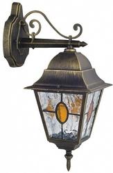 Favourite Zagreb Черный/Прозрачный Светильник уличный 1*E27*100W, IP44 арт. 1805-1W