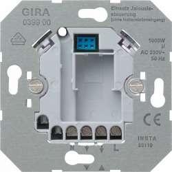 Gira Мех Вставка управления жалюзи электронная (макс 1000 ВА) 4-х пров подкл арт. 039900