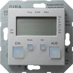 Gira S-55 Алюминий Таймер электронный арт. 038526