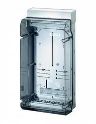 Hensel KV Бокс прозр. дверь с пломб, DIN-рейка IP65.(295х583х182) арт. 6100101