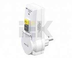 IEK Адаптер с защитным отключением УЗО-ДПА16В 30мА арт. WDV20-16-30-K01