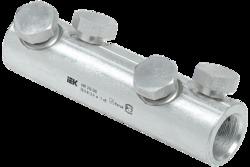 IEK Алюминиевая механическая гильза со срывными болтами АМГ 240-300 до 1 кВ арт. UZA-29-S240-S300-1