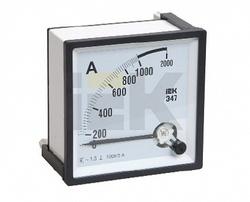 IEK Амперметр Э47 2000/5А кл. точн. 1,5 96х96мм арт. IPA20-6-2000-E