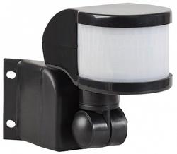 IEK Датчик движения ДД 018В черный, макс. нагрузка 1100Вт, уг 270град, дальность 12м, IP44, арт. LDD10-018B-1100-002