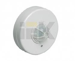 IEK Датчик движения ДД 024В белый, макс. нагрузка 1100Вт, угол обзора 180-360гр, дальность 6м, IP33 арт. LDD11-024B-1100-001