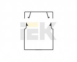IEK Элекор Кабель-канал 60х60 (1шт.= 2 м.) арт. CKK10-060-060-1-K01