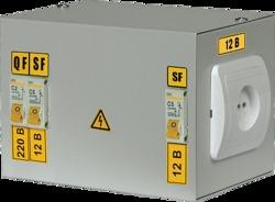 IEK Ящик с понижающим трансформатором ЯТП-0,25 220/36-2 36 УХЛ4 IP31 арт. MTT12-036-0250