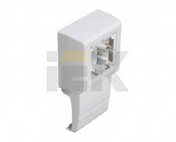 IEK Коробка установочная одноместная КМУПО арт. CKK11D-U-080-020-K01
