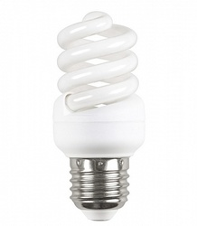 IEK Лампа энергосберегающая спираль КЭЛ-FS Е27 9Вт 4000К Т2 арт. LLE25-27-009-4000-T2