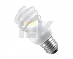 IEK Лампа энергосберегающая спираль КЭЛ-S Е27 20Вт 4200К Т2 арт. LLE20-27-020-4200-T2