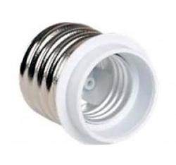 IEK ПР40-27-К02 Переходник пластик, Е40-Е27, белый арт. EPR31-01-01-K01