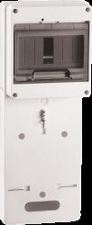 IEK Панель для установки счетчика ПУ1/2-7 1-фазн. (149х420х30 мм) 7мод. арт. MPP10-1