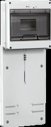 IEK Панель для установки счетчика ПУ3/2-8 3-фазн.(200x465x64мм) 8мод. арт. MPP10-3