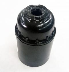 IEK Пкб27-04-К01 Патрон подвесной карболитовый, Е27, черный (50 шт) арт. EPK10-04-01-K01