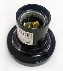 IEK Пкб27-04-К21 Патрон потолочный карболитовый, Е27, черный (200 шт) арт. EPK12-04-01-K01