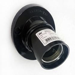 IEK Пкб27-04-К31 Патрон угловой настенный карболитовый, Е27, черный (50 шт) арт. EPK13-04-01-K01