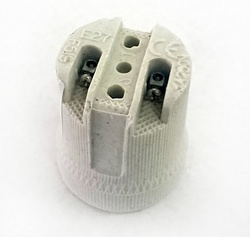 IEK Пкр27-04-К43 Патрон подвесной керамический, Е27 (200 шт) арт. EPC10-04-01-K01