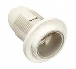 IEK Ппл14-02-К12 Патрон пластик с кольцом, Е14, белый, индивидуальный пакет, арт. EPP21-02-02-K01