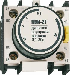 IEK Приставка ПВИ-11 задержка на вкл. 0,1-30сек. 1з+1р арт. KPV10-11-1