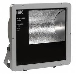 IEK Прожектор ГО04-250-01 250Вт E40 серый симметричный IP65 арт. LPHO04-250-01-K03