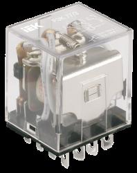 IEK Реле РЭК77/3(LY3) с индикацией 10А 24В DC арт. RRP10-3-10-024D-LED