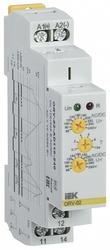 IEK Реле повышенного напряжения ORV. 1ф 110-240 В AC/DC арт. ORV-02-AD110-240