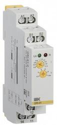 IEK Реле тока ORI. 0,2-2 А. 24-240 В AC / 24 В DC арт. ORI-01-2