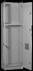 IEK Шкаф напольный цельносварной ВРУ-2 20.60.60 IP31 TITAN арт. YKM2-C3-2066-31