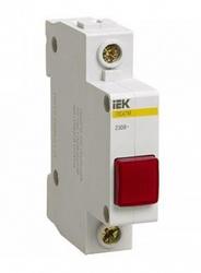 IEK Сигнальная лампа ЛС-47М (красная) (матрица) арт. MLS20-230-K04