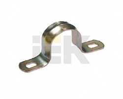 IEK Скоба металл.двухлапковая d16-17мм арт. CMA11-16-100