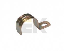 IEK Скоба металл.однолапковая d14-15мм арт. CMA10-14-100