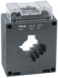 IEK Трансформатор тока ТТИ-40 600/5А 10ВА класс 0,5 арт. ITT30-2-10-0600