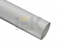IEK Труба гладкая жесткая ПВХ d50 серая (15м),3м арт. CTR10-050-K41-015I