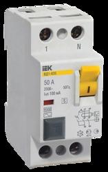 IEK Выключатель дифференциальный ВД1-63S 2Р 32А 100мА арт. MDV12-2-032-100