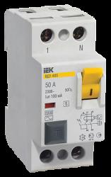 IEK Выключатель дифференциальный ВД1-63S 2Р 32А 300мА арт. MDV12-2-032-300