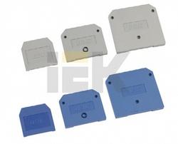 IEK Заглушка для ЗНИ-35мм2 (JXB125A) серый арт. YZN10D-ZGL-035-K03