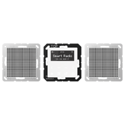 JUNG A 500 БелСтерео-радиоприемник скрытой установки с RDS арт. RADA528WW